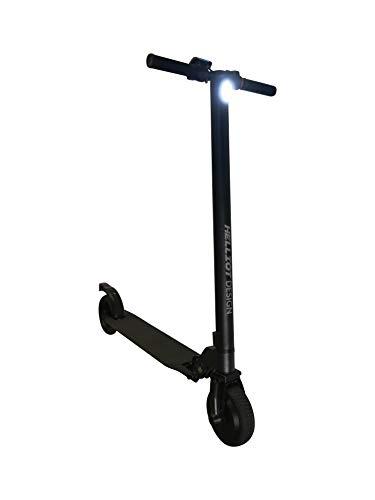 Helliot Design 6.5 Elektro-Scooter, zusammenklappbar, für Erwachsene, Unisex, Schwarz, Einheitsgröße
