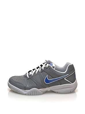 Nike  City Court 7, Sneakers garçon - multicolore - Gris / Azul / Blanco (Cl Grey / Gm Ryl-Pr Pltnm-White), 39 EU