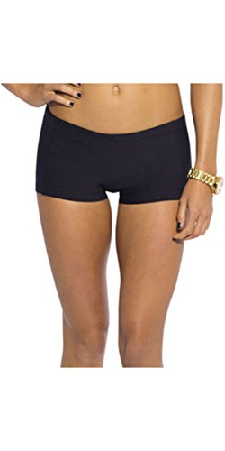 Rip Curl G-Bomb Ladies Boyleg 1mm Neoprene Shorts BLACK WSH4AW Sizes- - Ladies 10