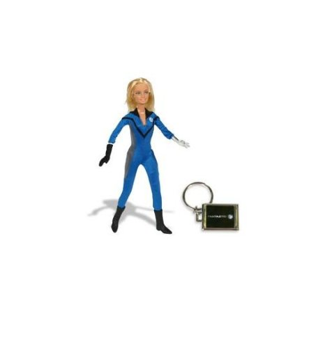 Barbie Sammlerstücke Super Heroes Serie: Der unsichtbare Frau DC Marvel