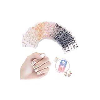 Nicedeco 50 Blatt 3D Design Nagel Sticker selbstklebende Aufkleber Tattoo Abziehbilder DIY Nail Art Dekoration/Phone Case/Karten Deko