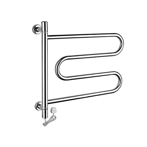 Liu uk towel dryer portasciugamani riscaldati bagno dell'hotel stendipanni intelligente a temperatura costante porta asciugamani a parete in acciaio inox 304 mensola