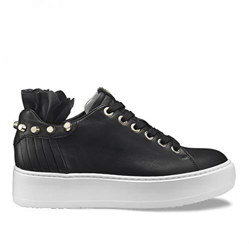 Cesare Paciotti 4US, Damen Sneaker, Schwarz 32