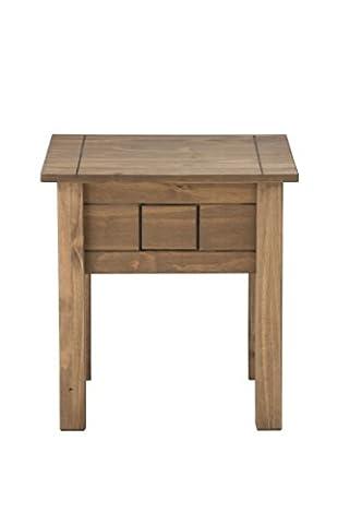 Birlea Santiago Lamp Table -Solid Pine, Waxed Pine
