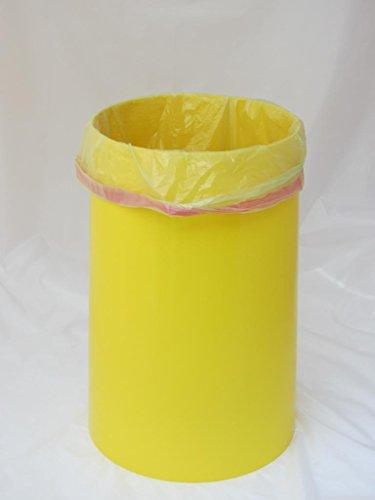 keine zerrissenen gelben s cke sacktonne gelb mit deckel f r gelber sack st nder. Black Bedroom Furniture Sets. Home Design Ideas