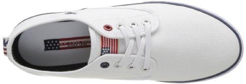 U.S.POLO ASSN. - Hugh Whi, Sneaker Uomo Bianco (Blanc (Whi))