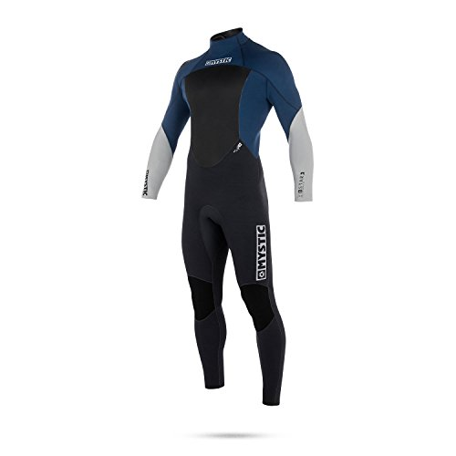 2018 Mystic Star 5/4mm GBS Back Zip Wetsuit NAVY 180018 Sizes- - Small