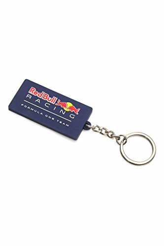 Red Bull RBR RedBull Racing, F1, silicone keyring with raised logo detail