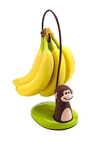 Joie Bananenständer AFFE, Kunststoff, braun, 12x10x11 cm -