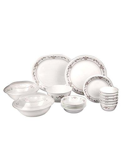 On Sale  sc 1 st  Coonyo.com & Corelle Imperial Glass Dinnerware Set 30-Pieces Multicolor ...