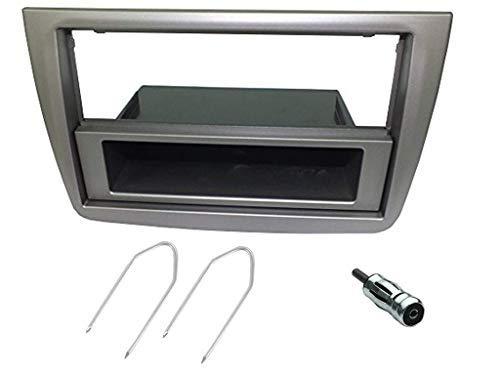 Kit montaggio autoradio 1 DIN per Alfa romeo MITO mascherina adattatore antenna e chiavi