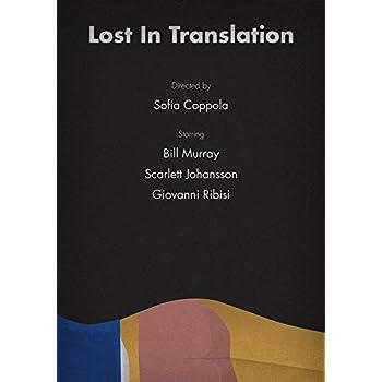 Generic Lost In Translation Film Foto Poster Scarlett Johansson Bill Murray 001 A5 A4