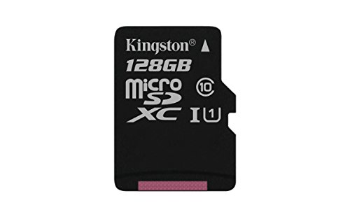 Kingston SDCS/128GBSP - MicroSD Canvas Select velocidades