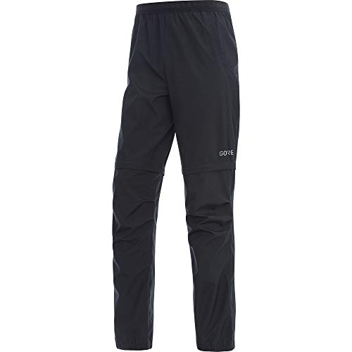 GORE Wear R3 Herren Zip-Off Hose GORE WINDSTOPPER, L, Schwarz Off Gore Bike