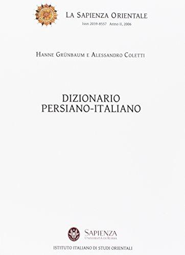 Dizionario persiano-italiano