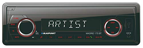 BLAUPUNKT Madrid 170 BT 230 MP3-Tuner Bluetooth 2.0 Front-USB & Aux-In SD-Karten Slot iPod/iPhone-Steuerung Freisprechen 4x 40W