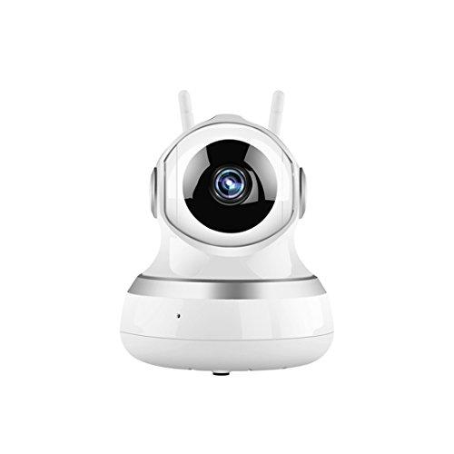 IP Kamera Wifi 720P HD WIFI Sicherheitskamera, Smart Home Kamera mit Nachtsicht,Home und Baby Monitor mit Bewegungserkennung,2 Wege Audio,unterstützt Fernalarm Intelligent Security Alarm