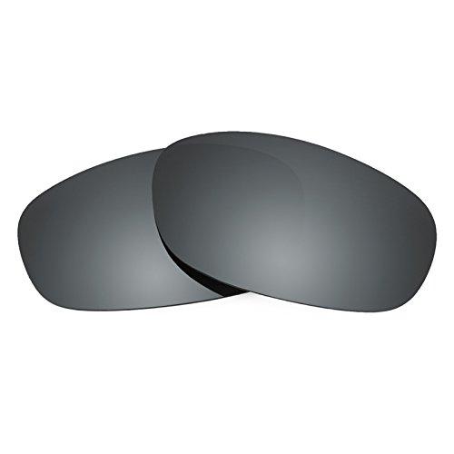 Revant Ersatzlinsen für Ray Ban Predator 2 RB2027 Polarisierung Schwarz Chrom MirrorShield®