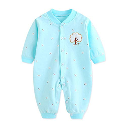 Body para bebé, Unisex Layette Newborn Baby Infants Outfit Jumpsuit(6
