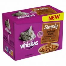 whiskas-pouch-multi-pack-simply-braised-meat-12-x-85g-bulk-deal-of-4-4080g
