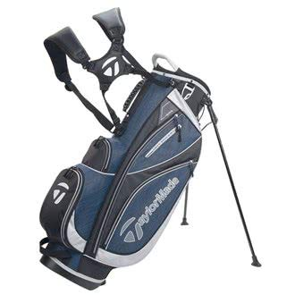 TaylorMade Golf 2018 Classic Stand Bag Mens Carry Bag 6 Way Divider Black/Navy Heather/Silver