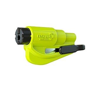 Resqme GBO-RQM-YELLOWFLUO Car Escape Tool, Yellow, 1 Resqme