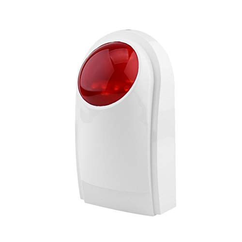 Gsm-flash (Heaviesk Alarm Sirene Alarm Im Freien Wasserdichte Flash Sirene Sound Strobe Flash Alarm Sirene Für Wif GSM PSTN Home Security Alarm System)