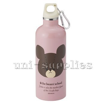 the-bears-school-stainless-mobile-double-bottle-500ml-school-of-bear-face-jackie-80-453-japan-import
