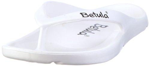 flip flops damen birkenstock Betula Energy 083571, Unisex - Erwachsene, Zehentrenner, Weiss (white), EU 46 (UK 11.5) (US M 13)