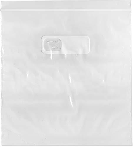 PlyMor Plastikbeutel, wiederverschließbar, 29,5 l Gefrierschrank, 26,9 x 27,9 cm Case of 500