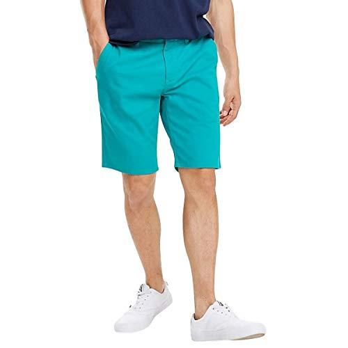 Tommy Jeans Herren Straight Leg Shorts Gr. W28, grün -