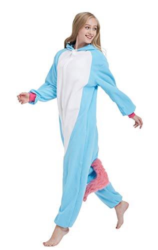 Einhorn Pyjama Cosplay Onesie für Erwachsene - 3