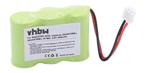 vhbw 1x NiMH Akku 600mAh (3.6V) für schnurlos Festnetz Telefon Lucent Phone Speaker 7630, Speakerphone 7630 wie HHR-P303, 3N270AA, u.a. Lucent Speakerphone