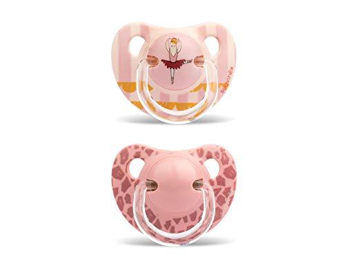 Suavinex - Pack 2 Chupetes 6-18 meses. Tetina Anatómica