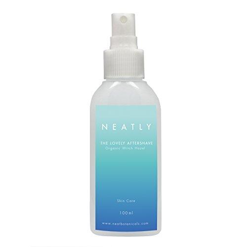 Aftershave für Frauen | NEATLY Aftershave 100ml | mit HAMAMELIS Extrakt und ALOE VERA | Beruhigt gereizte Haut | nur natürliche Inhaltsstoffe