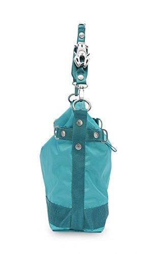 George Gina & Lucy 100 Peaches Schultertasche 38 cm bora bora blue