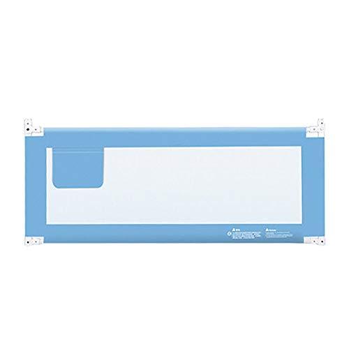 Bettgitter, vertikal anhebendes Bettgitter-Sicherheits-Seitenleitblech, tragbares Anti-Fall-Bettgitter for Kleinkinder Kleinkinder und Kinder , Höhenverstellbar (Color : A, Size : 60inch) - 60-zoll-matratze
