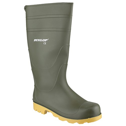Dunlop - Botas de agua estilo Wellington de PVC modelo Universal para