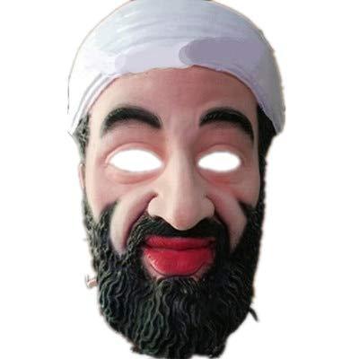 Dodom Erwachsene Halloween Masken Promi Mann Gesichtsmaske Voller Kopf Atmungsaktive Halloween Maskerade Party Latex Ornament Echt Simulieren Maske (Promi-halloween-kostüme Für Erwachsene)