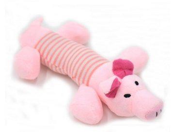 BIGBOBA 1 × Hund Haustier Spielzeug Welpen Plüsch Sound Kauen Quietsche Quietschende Schwein Elefant Ente Spielzeug