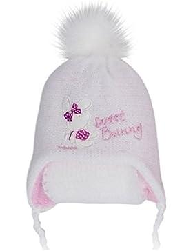 Baby Mütze Wintermütze+Schal Mädchen 0,6 - 1,5 Jahre Gr: 44 bis 48 Edelmütze in 7 Farben