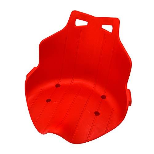 Kmoon Hoverboard Sitz Kart Hover Sitz Sitzscooter Kunststoffsitz für Hoverkart Rot