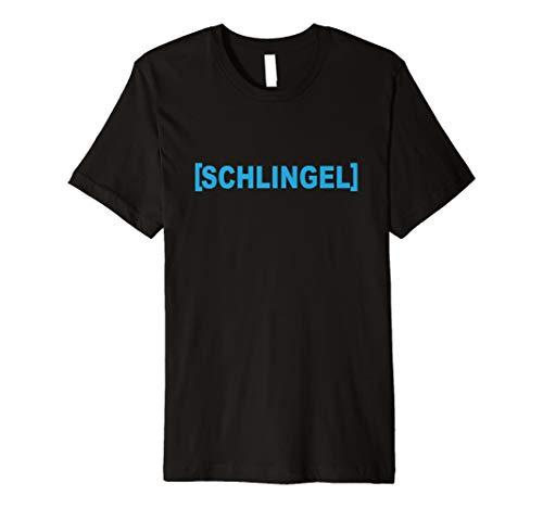   SCHLINGEL   Frech & Lustig Unisex Spruch T-Shirt Mann Frau