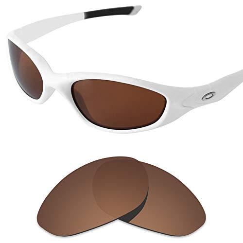 sunglasses restorer Kompatibel Ersatzgläser Oakley Minute 2.0 Ersatzgläser (Polarized Brown Lenses)