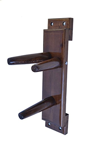 Wing Chun Wooden Dummy Plane Walnut Color (Trainingsgerät Chun Wing)