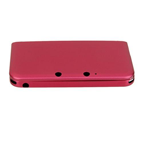 Cubierta Dura Protectora De Aluminio Caja De La Piel Para Nintendo 3DS LL XL -red