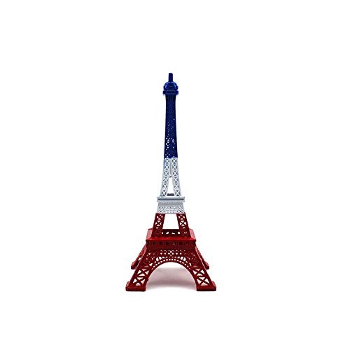 Joizo 1PC Mini Torre Eiffel Adornos 13 cm Hierro Forjado