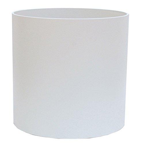 Kunststoff Hydro Blumenkübel Elegance RU50 reinweiß struktur Dm 47.5cm Höhe 39.0cm