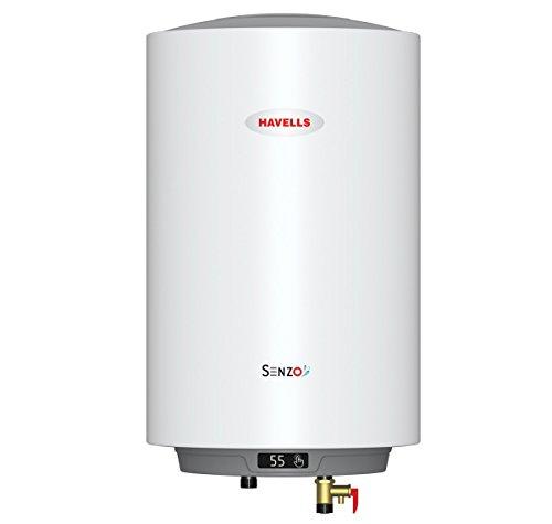 Havells Senzo 5S 25-Litre Storage Heater (White)