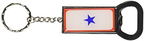Blue Star Flag-One 1War Mother Service portachiavi apribottiglie